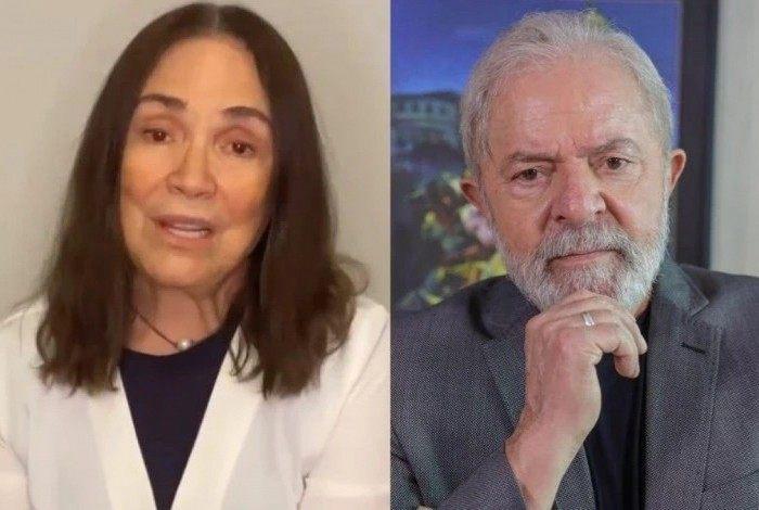 Lula pede R$ 131 mil de indenização a Regina Duarte por danos morais