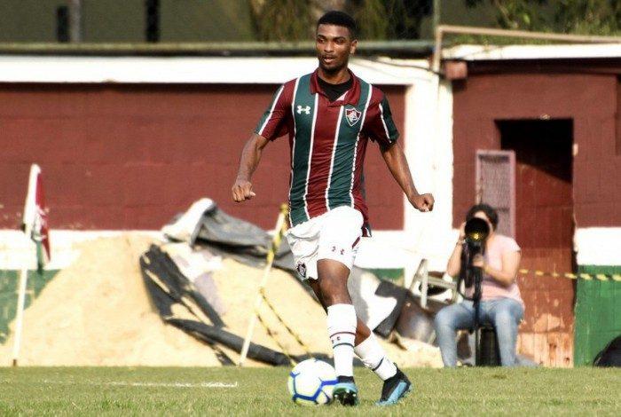 Rafael Resende era titular do sub-20 do Fluminense
