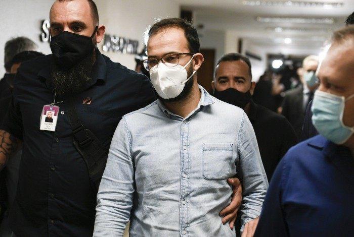 Luis Ricardo Miranda chega na CPI da Covid