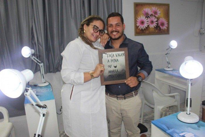 Pierre Santoro e Bruna Queiroz