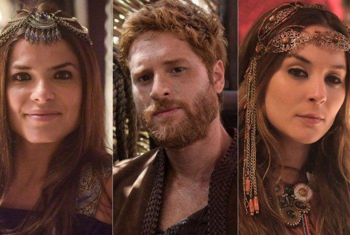 Basemate, Esaú e Judite fazem sexo a três em 'Gênesis'