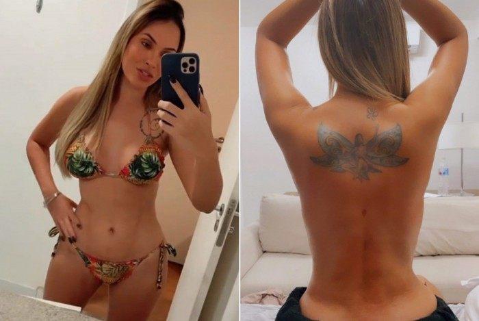 Ex-BBB Sarah Andrade mostra resultado da lipo LAD