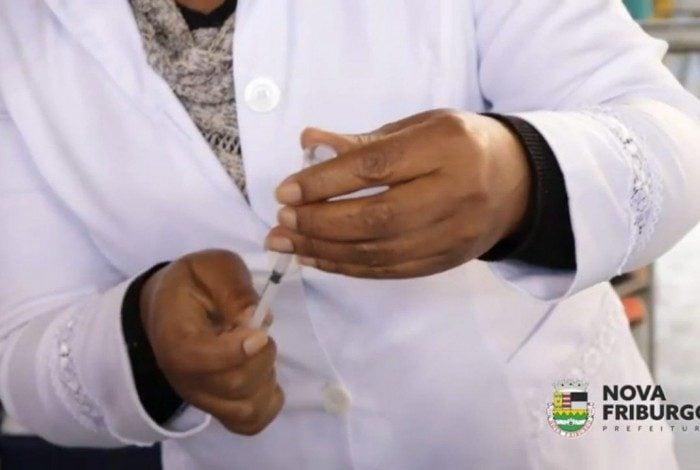Vacinação contra a Covid-19 em Nova Friburgo