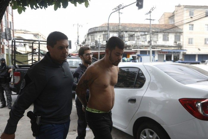 Leo GTA foi preso por policiais civis em um Motel, em Duque de Caxias, na Baixada Fluminense