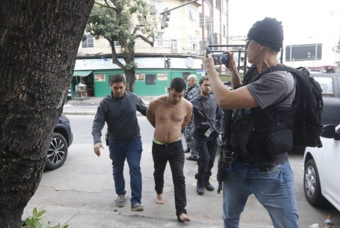 Léo GTA foi preso pela Polícia Civil dentro de um motel em Duque de Caxias