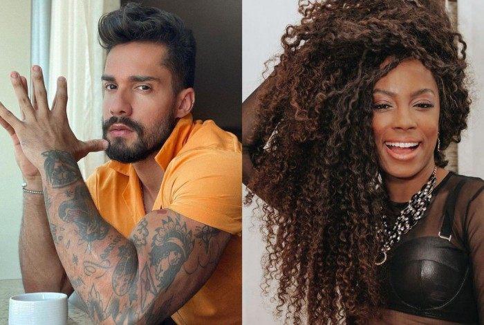 "Bil Araújo e Lumena Aleluia participaram do ""BBB21"""