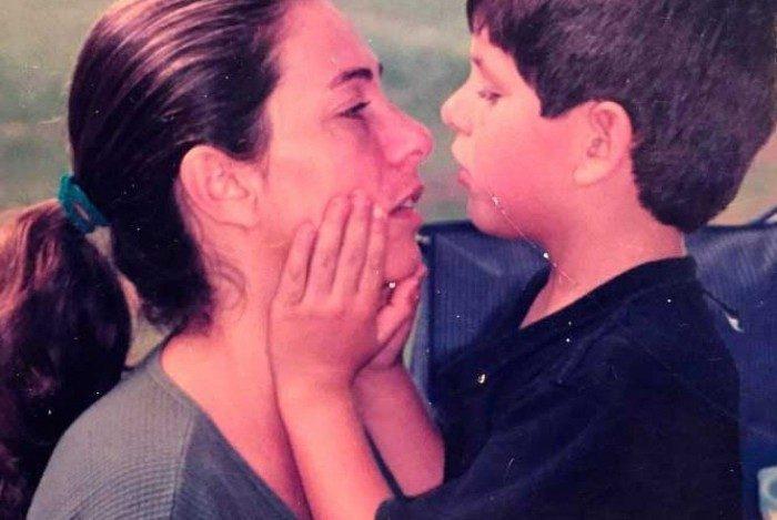 Cissa Guimarães faz homenagem ao  filho Rafael Mascaranhas falecido há 11 anos