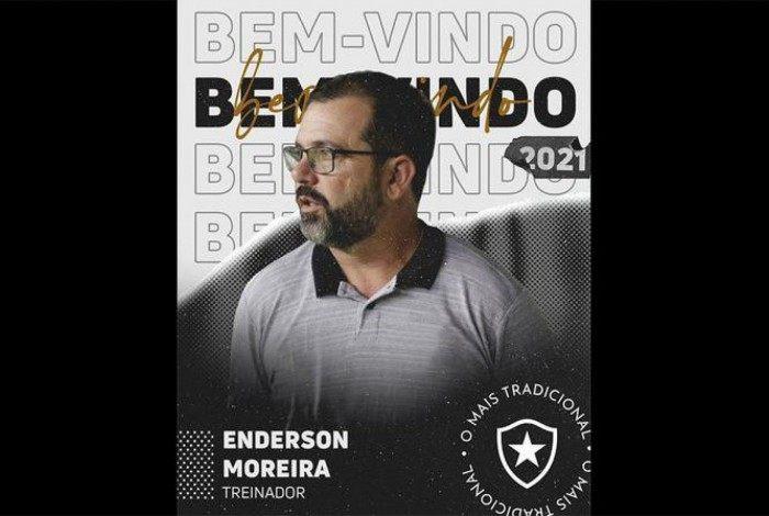 Enderson Moreira - É o mais novo treinador do Botafogo, contratado com a difícil missão de levar a equipe à primeira divisão. Com passagens em diversos clubes brasileiros, o último trabalho de Enderson foi pelo Fortaleza, onde ficou menos de 4 meses no cargo.