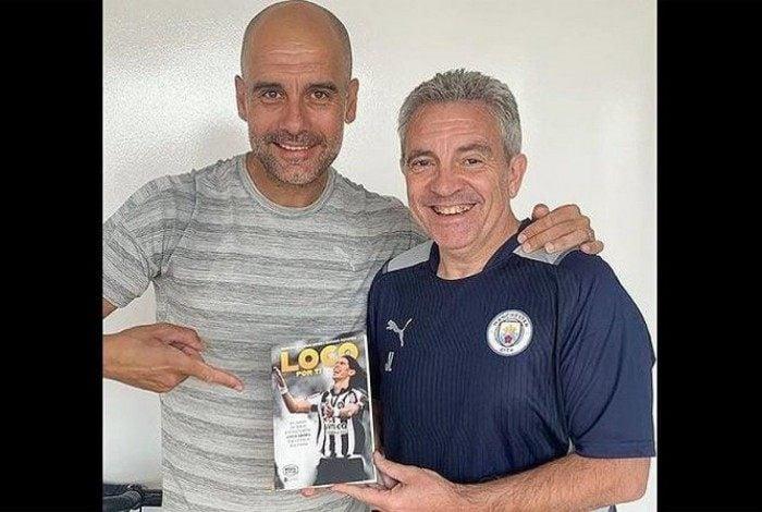 Pepe Guardiola ganha livro com a história de Loco Abreu no Botafogo