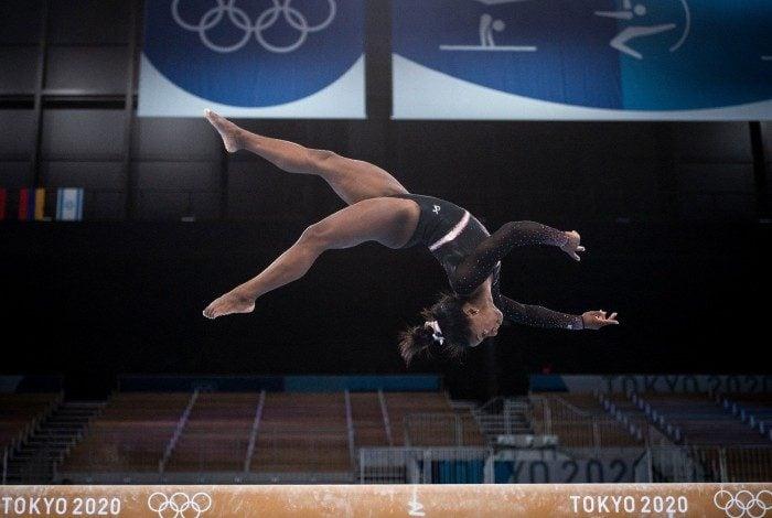 Principal nome da ginástica mundial, a americana Simone Biles é uma das estrelas de Tóquio-2020 e cotada para faturar cinco medalhas de ouro