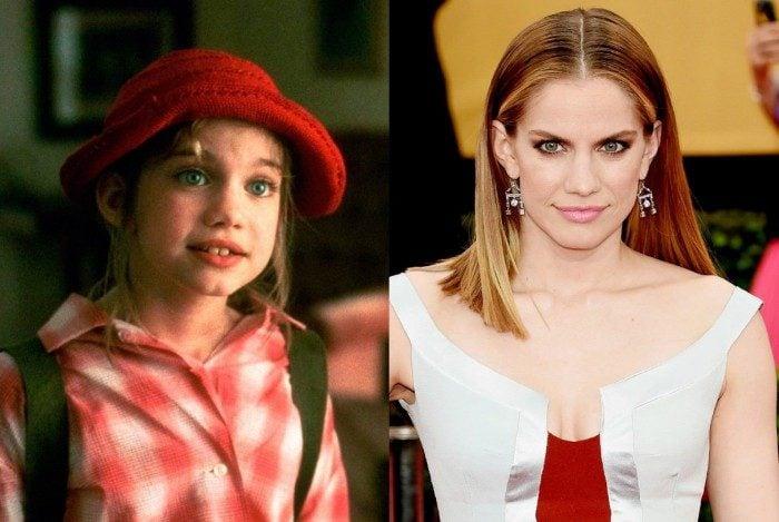 Anna Chlumsky antes e depois do filme