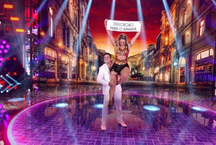Paolla Oliveira e Leandro Azevedo são os campeões da 'Super Dança dos Famosos'