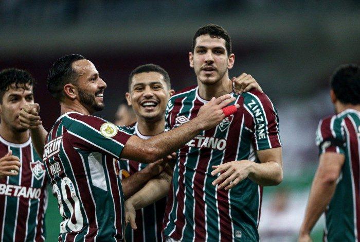 Nino é um dos destaques do Fluminense