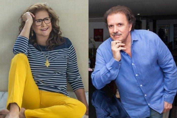 Pela primeira vez juntos Joanna e o maestro Eduardo Lages