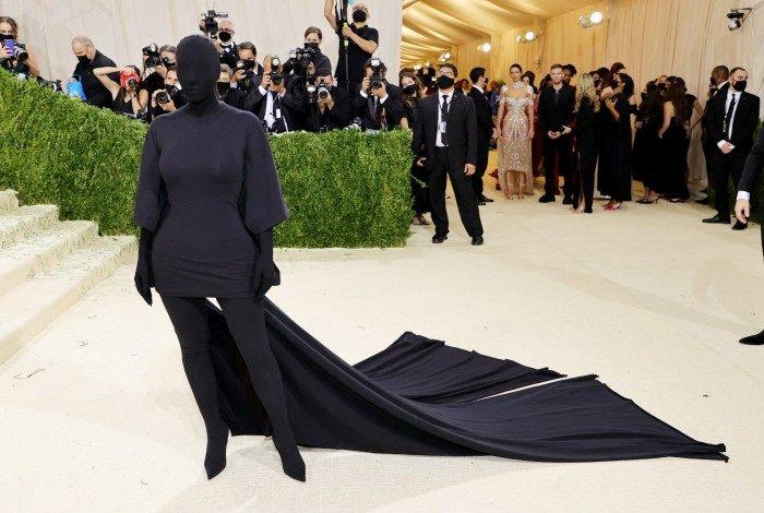 Kim Kardashian no Met Gala 2021