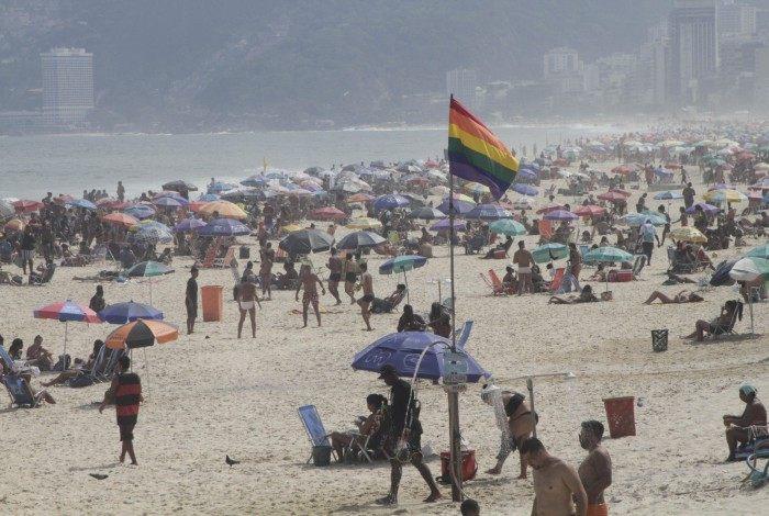 Praias e Termômetros da Zona Sul do Rio