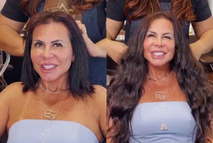 Gretchen muda o visual