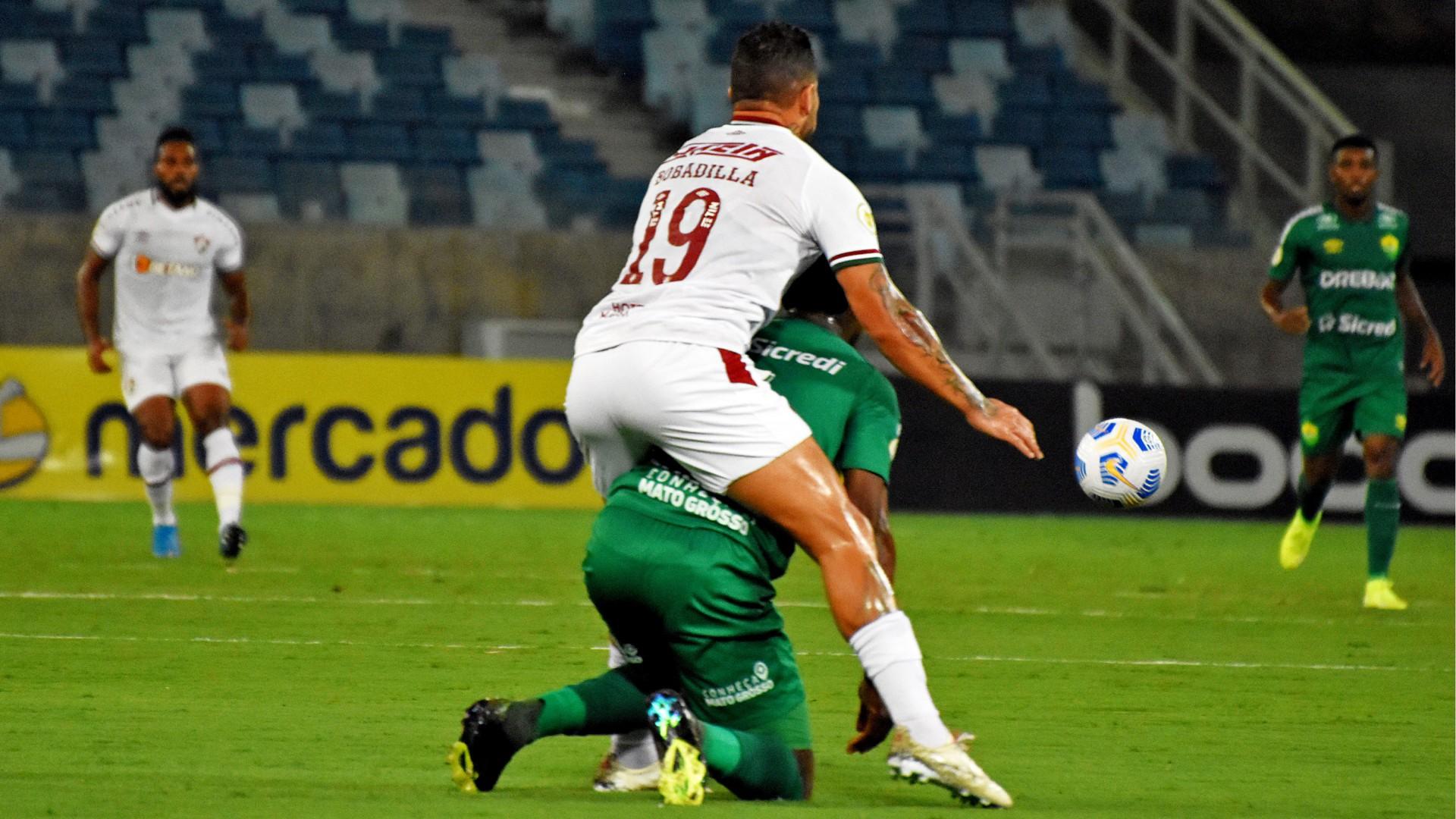 Fluminense bobeia e fica apenas no empate com o Cuiabá