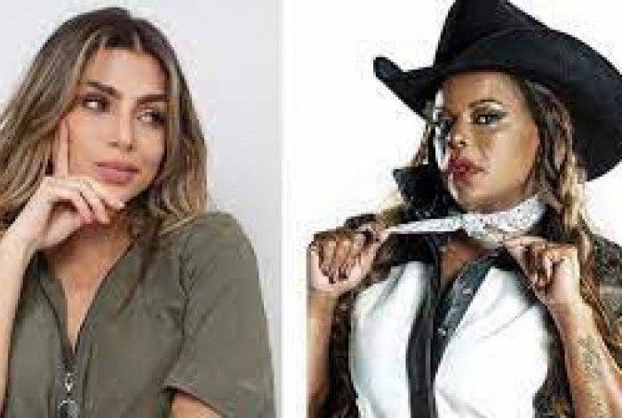 Cantora não gostou das plaquinhas dadas por Erika no 'Hora do Faro'