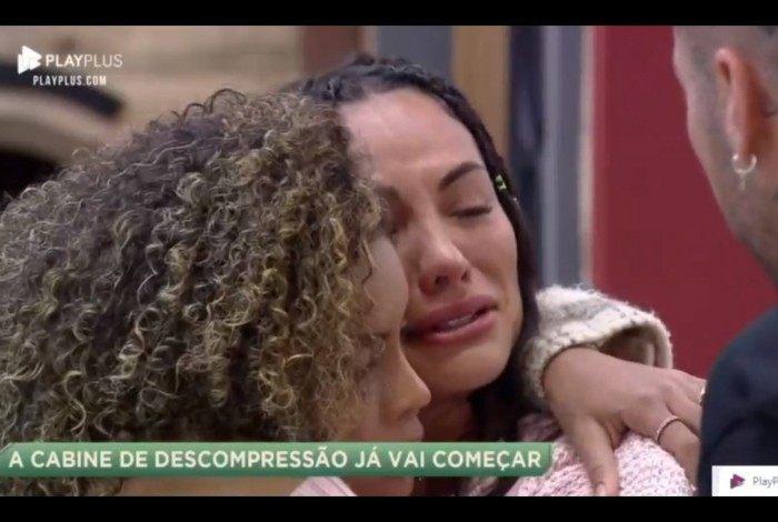 Aline Mineiro ficou muito abalado com a tensão que tomou conta de Itapecerica da Serra