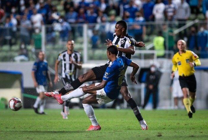 Empate em 0 a 0 com o Cruzeiro pode complicar Botafogo na tabela