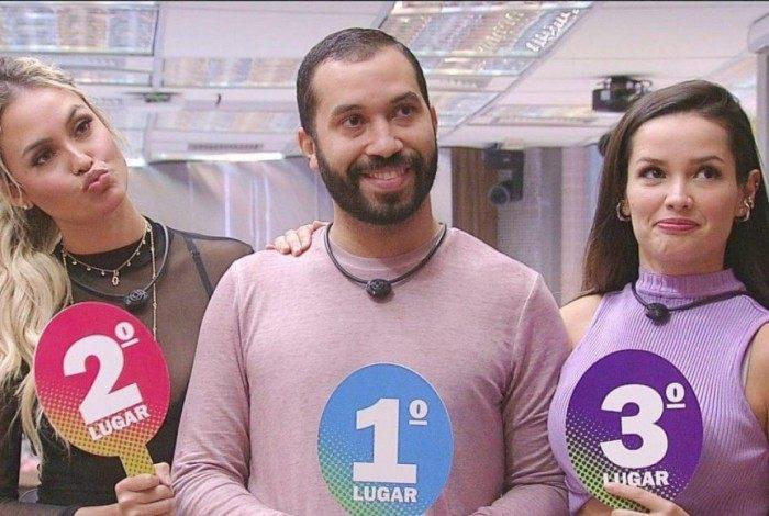 Sarah Andrade, Gil do Vigor e Juliette Freire