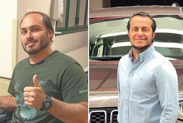 Carlos Bolsonaro é confundido com Thammy Miranda