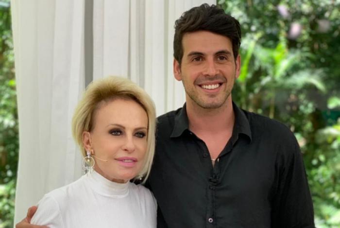 Maycon visita programa de Ana Maria Braga