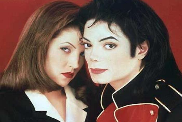 Lisa Presley e Michael Jackson