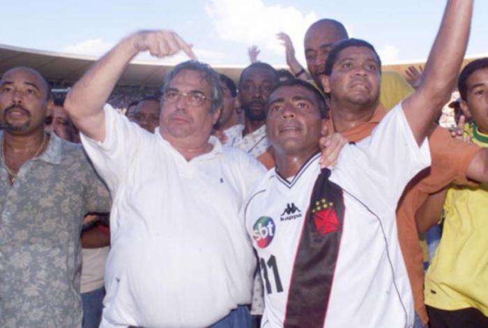 Eurico Miranda e Romário