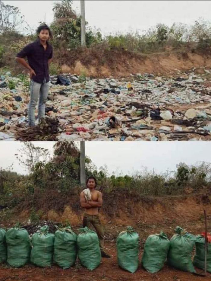 Desafio do Lixo mobiliza as redes sociais.