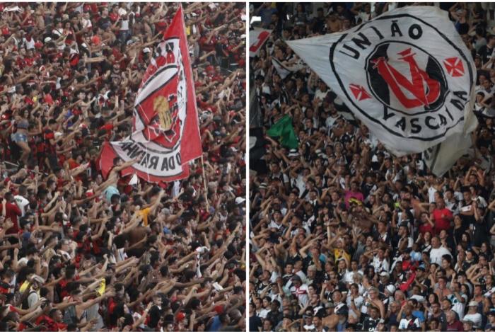 Torcidas de Flamengo e Vasco