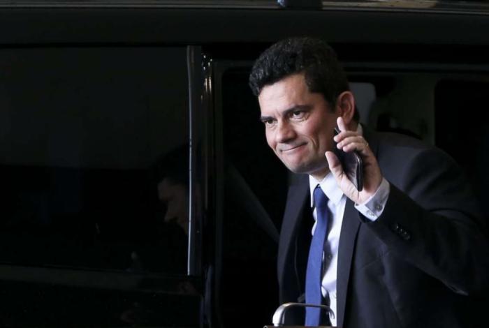 Ministro da Justiça e Segurança Pública, Sérgio Moro, não esconde seu desejo de chegar ao STF