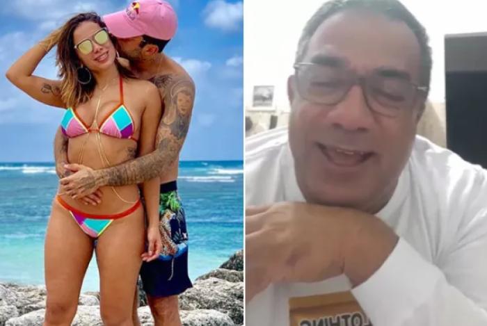 Mauro Machado afirmou que Anitta deixou o comando da carreira por Pedro Scooby