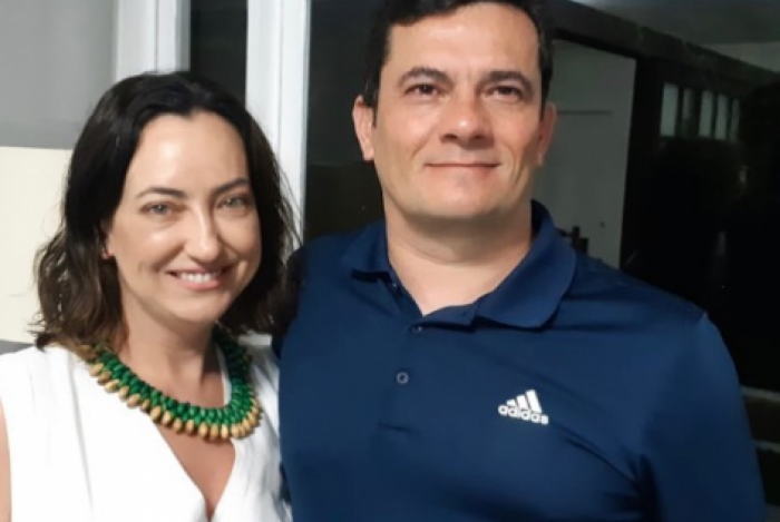 Sérgio Moro e Rosângela Wolff Moro