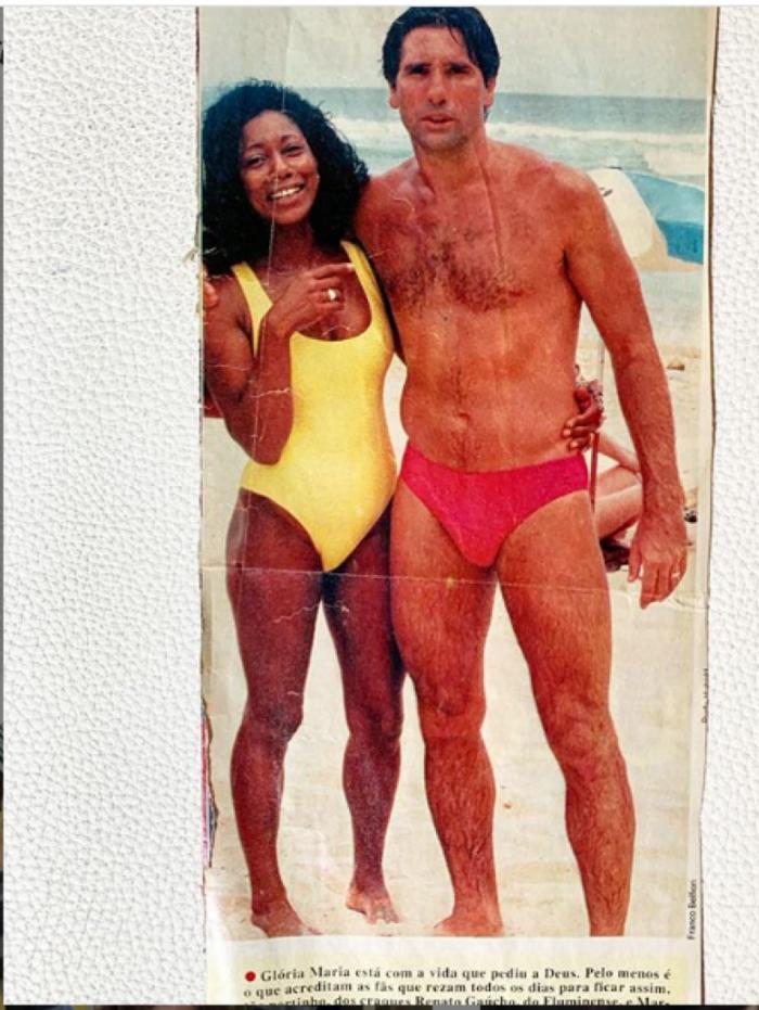 Gloria Maria e Renato Gaúcho