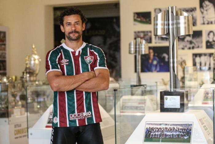 Fred chegou ao Fluminense