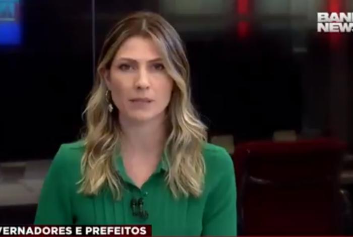 Patrícia Rocha, apresentadora da BandNews