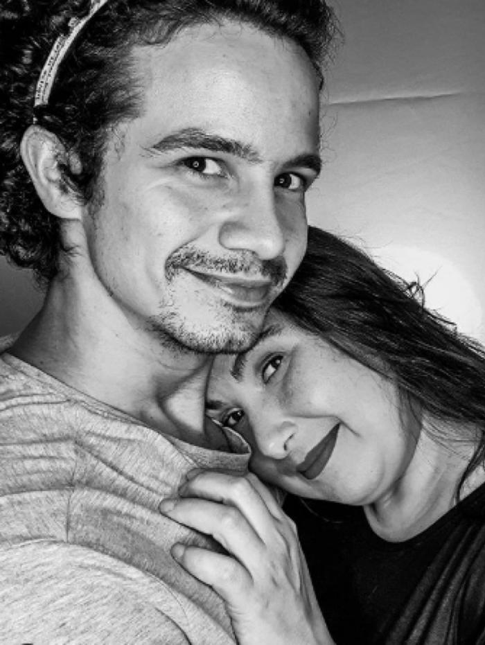 Atriz Mariana Xavier e o namorado