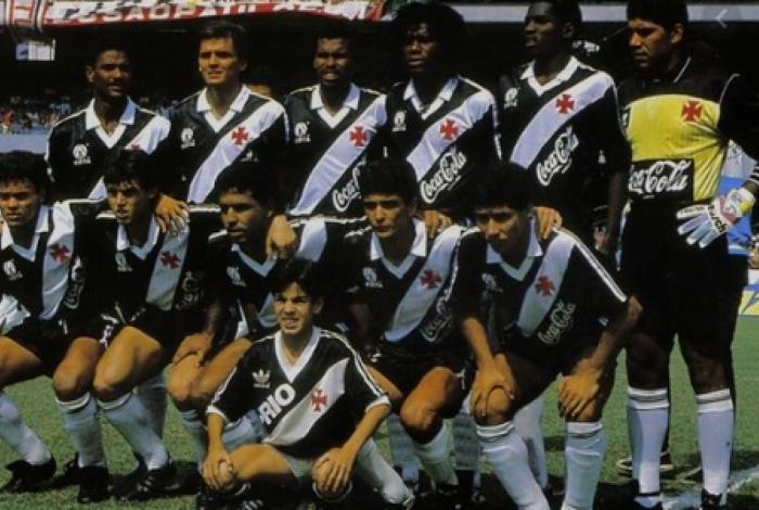 Vasco conquistou título brasileiro em 1989