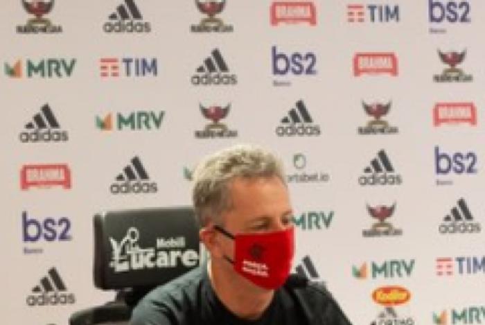 Presidente do Flamengo rasga elogios a Domènec: Está muito empolgado