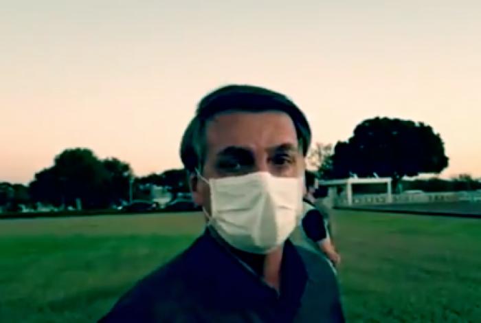 Bolsonaro voltou a defender hidroxicloroquina