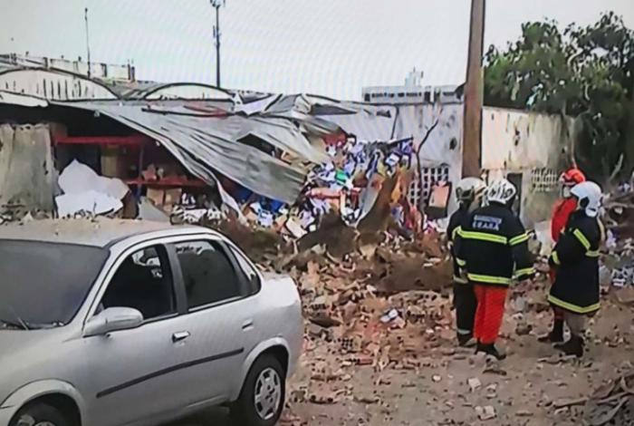 Explosão em fábrica de refrigerantes em Fortaleza