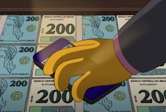 Os Simpsons previram a nota de 200 reais