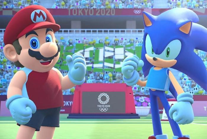 Mario e Sonic estrelam vídeo das Olimpíadas de Tóquio