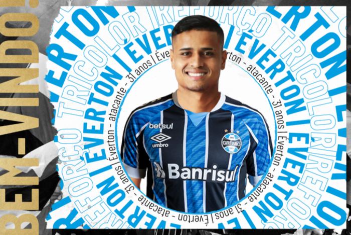 Everton é o novo reforço do Grêmio