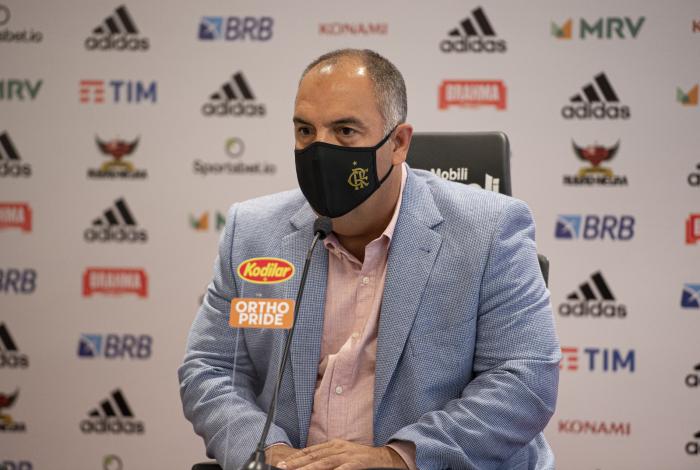 Vice de futebol do Flamengo, Marcos Braz
