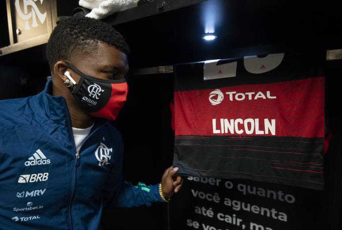 Lincoln volta a ter oportunidades no Flamengo