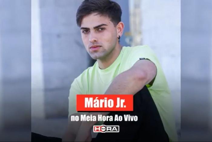 Influencer Mario Junior foi o convidado desta quarta, 16, no MH Ao Vivo