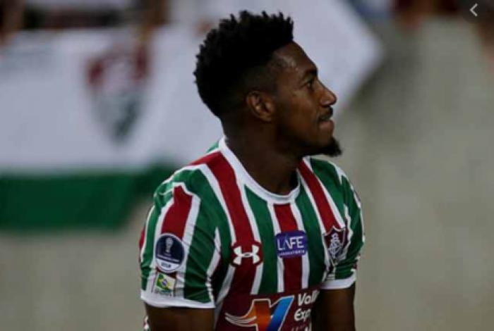 Atacante do Fluminense, Pablo Dyego, foi vítima de racismo em jogo da Sul-Americana no ano passado, contra o Penãrol, do Uruguai